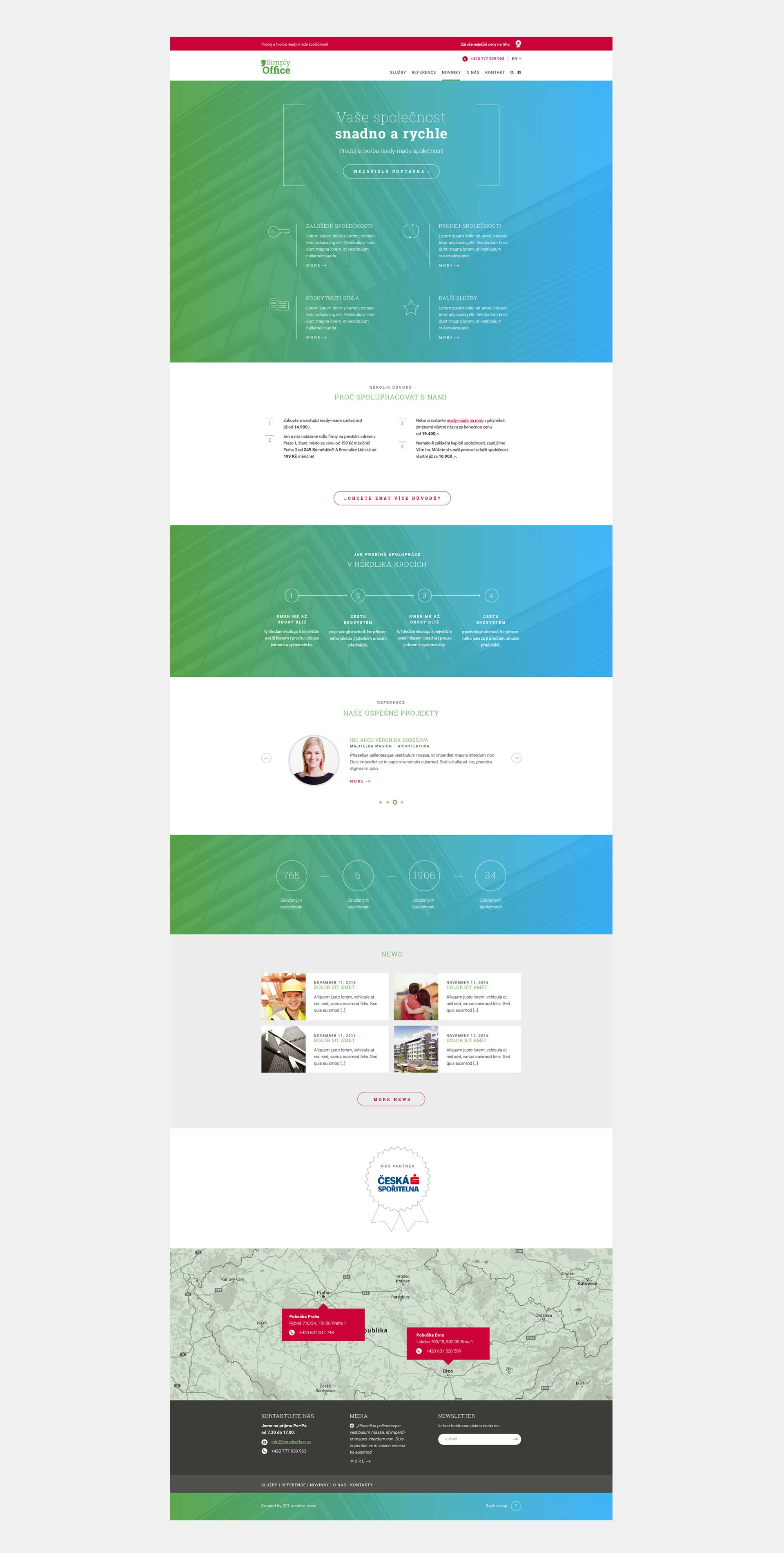 Simply Office - corporate website